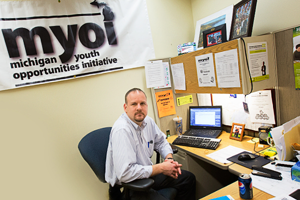 Jason Sides, Program Coordinator of MYOI