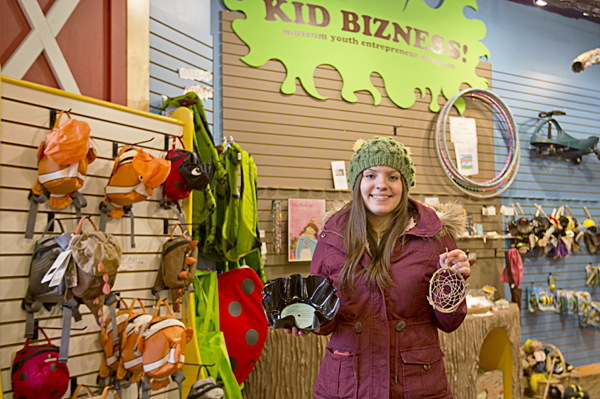 Kid Bizness program at the Children's museum