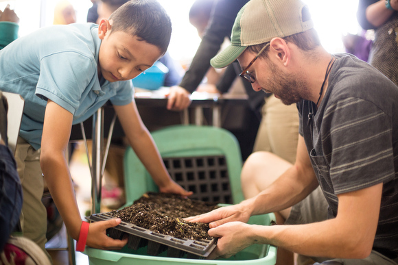 Grand Rapids schools tackle hunger, food insecurity with gardens